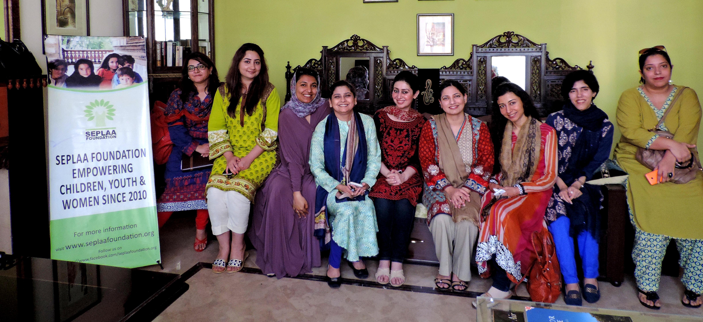SEW-EGAP Women Empowerment Executive Council, Lahore Chapter.